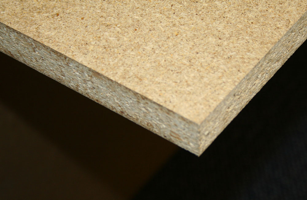 Chipboard Shelving - 1000mm Deep x 25mm Thick (inc. 3 no. supports)